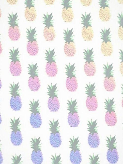 1 Pineapple Tumblr Pineapple Wallpaper Fruit Wallpaper Cute Wallpapers