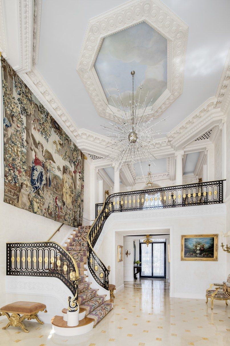 Tour A 39 Million French Chateau On The Jersey Shore French