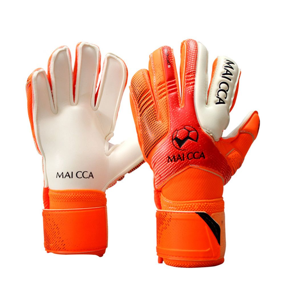 c04fe26d7 sale new 4mm thicken full latex mesh goalkeeper gloves kids youth  professional football goal keeper #