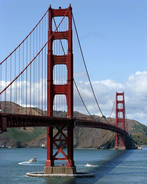 Golden Gate Bridge, Golden Gate, San