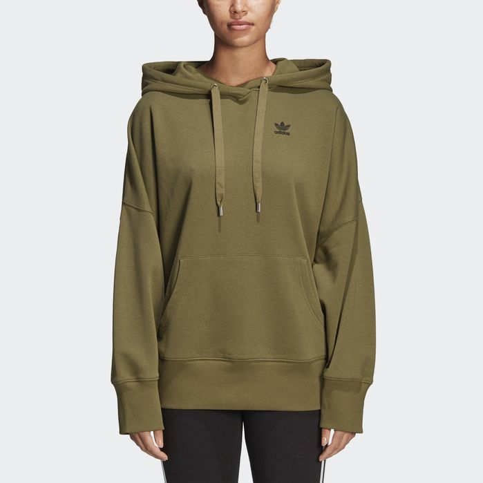 Graphic Hoodie Olive Green M Womens | Products | Hoodies
