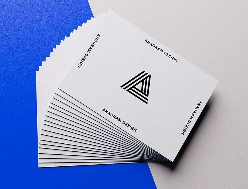 Pin By Jia Wu On Product Free Business Card Mockup Business Card Mock Up Blue Business Card
