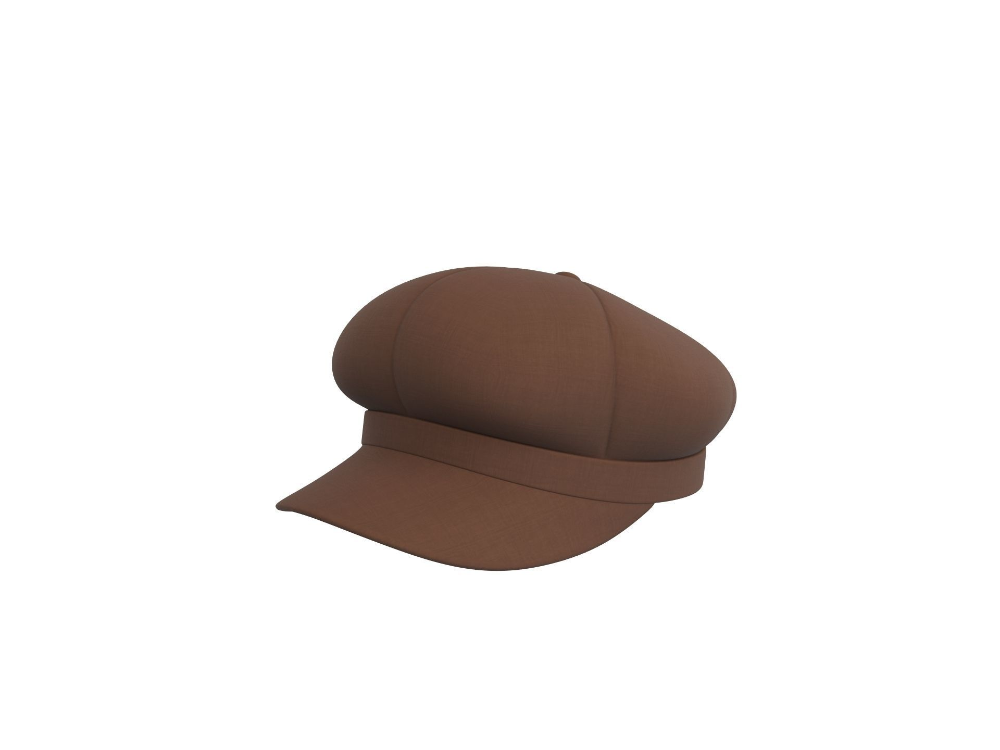 Poor Boy Hat 3d Model Boy Hat Hats 3d Model Character