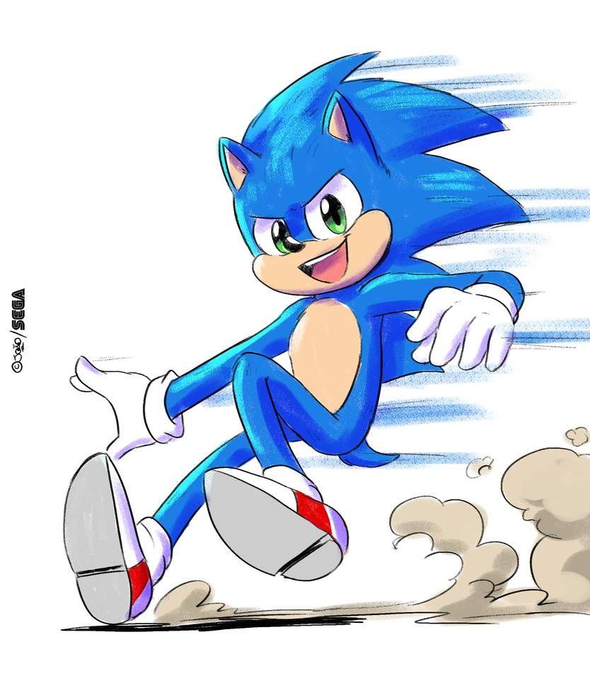 New Sonic Movie Design By Joaoppereiraus On Deviantart Hedgehog Art Sonic Sonic The Hedgehog