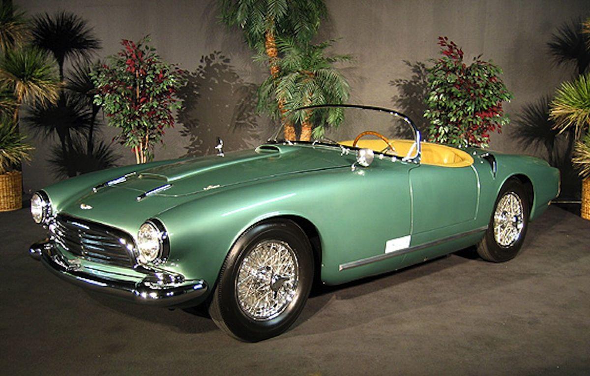 1957 Aston Martin DB24 MKII Touring Spyder Aston martin