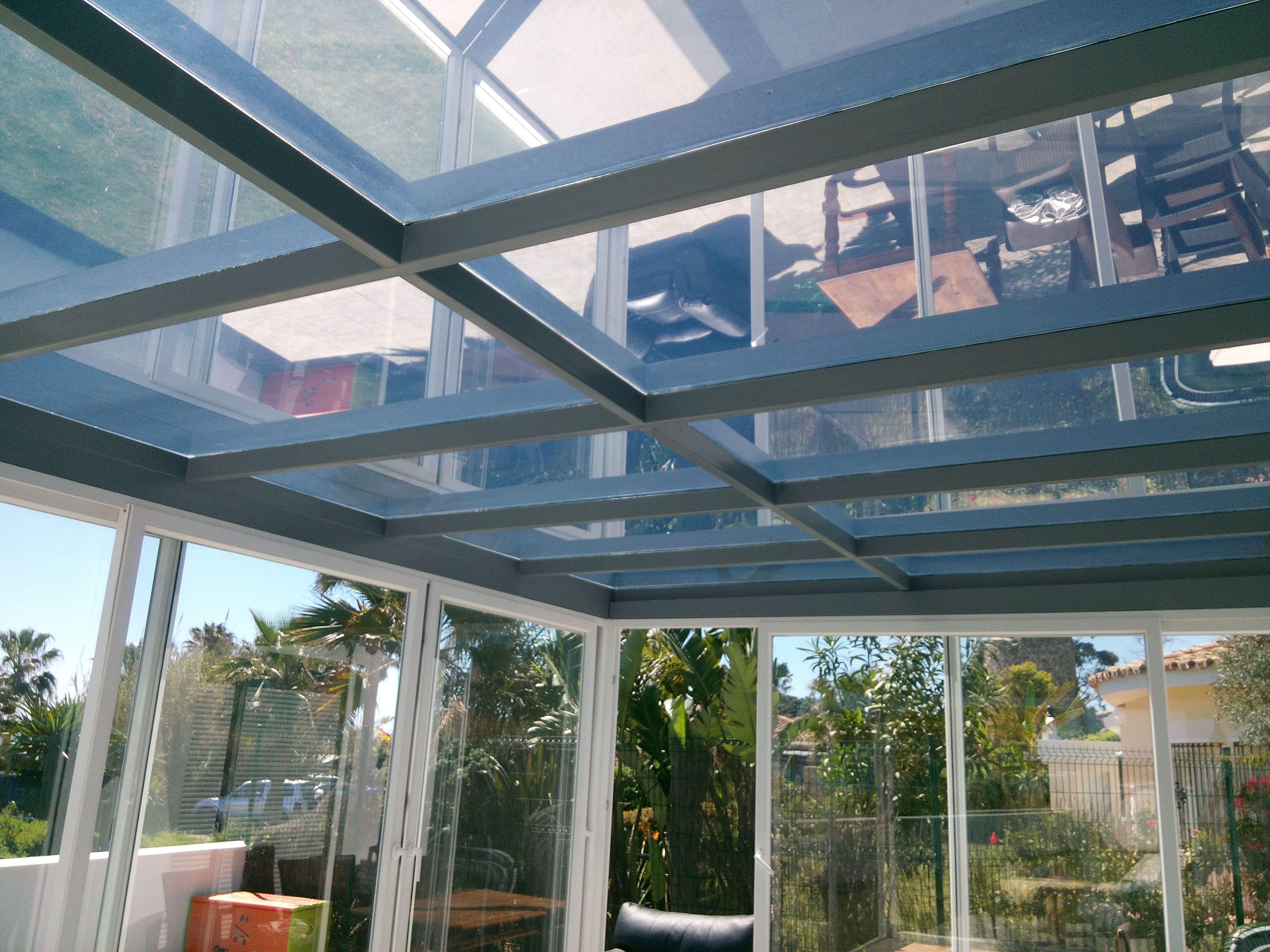 Glass Roof With Silver 80 Tint Estepona Spain Www Solarshadetinting Com La Casa De Mis Suenos Suenos