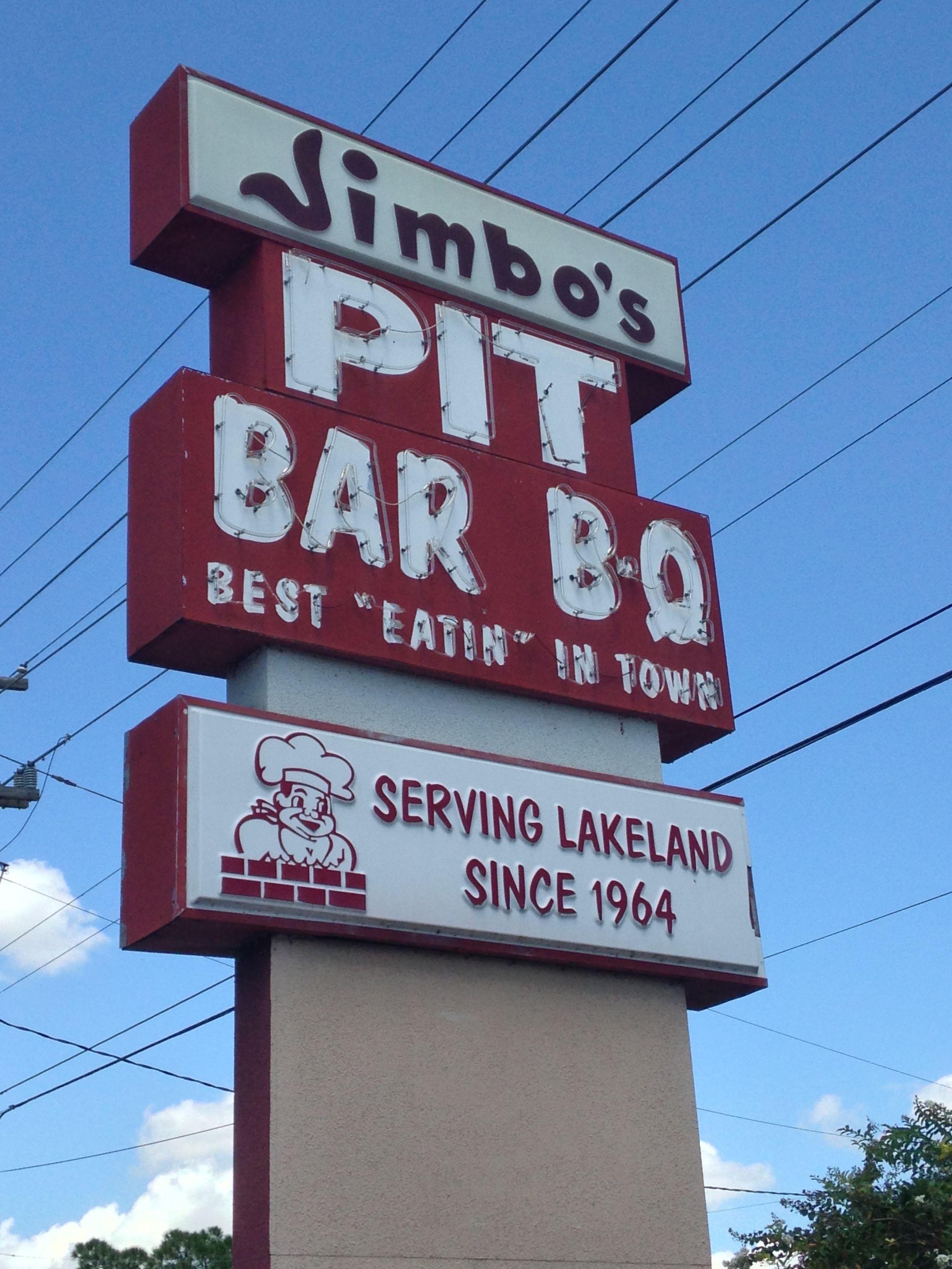 Jimbo's Pit Bar BQ has been serving Lakeland great
