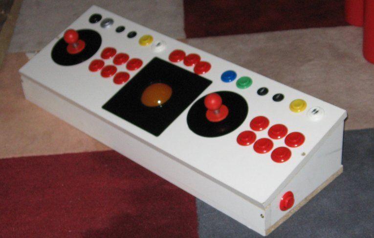 2 Player USB or Keyboard controller Arcade Joystcik, with Trackball