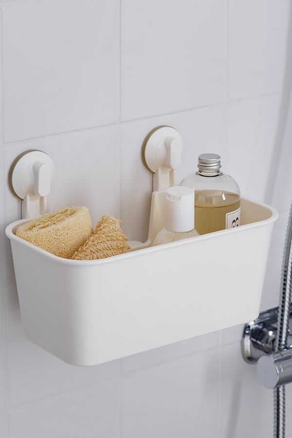 This Bathroom Caddy Does Double Duty, Housing Your Bathroom Necessities And  Keeping Them Off The