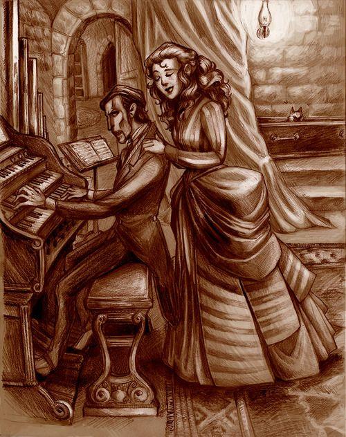 phantom and Christine
