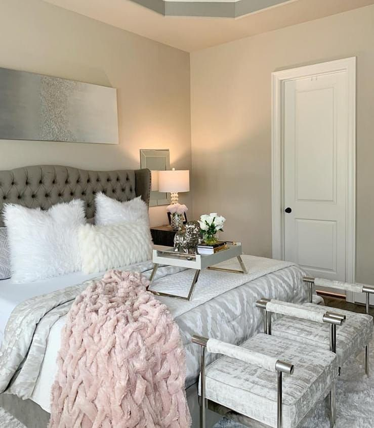 This Bedroom Has So Many Beautiful Details Follow Totallyglamdecor Use Totallyglamdecor To Get Featured Credi Home Decor Decor Trending Decor