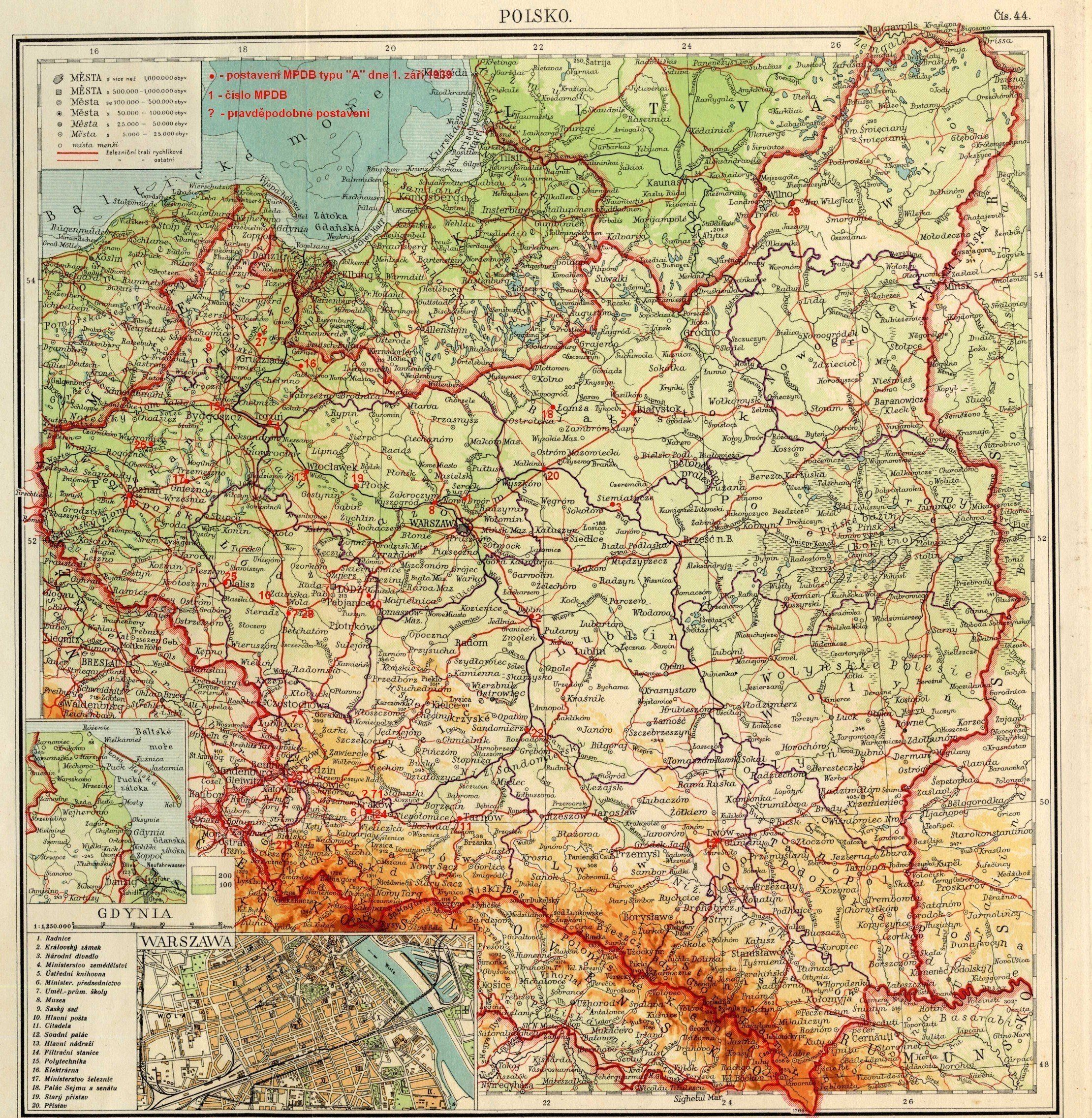 Poland 1938 Map Map Historical Maps Poland History