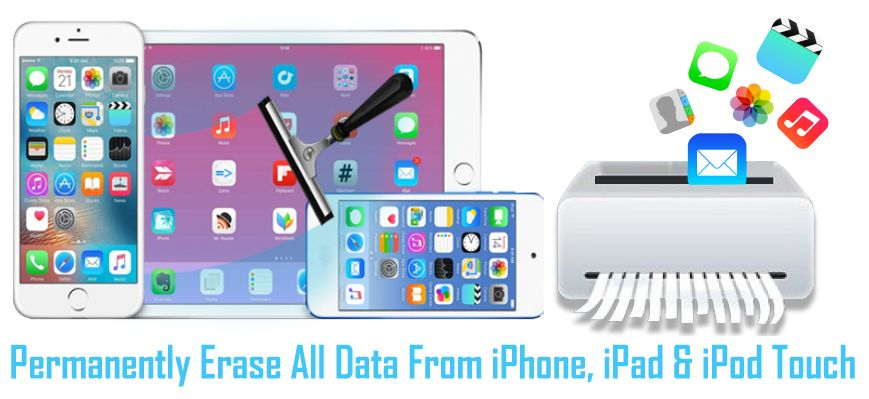 How To #Permanently #Erase All #Data From iPhone, iPad And iPod
