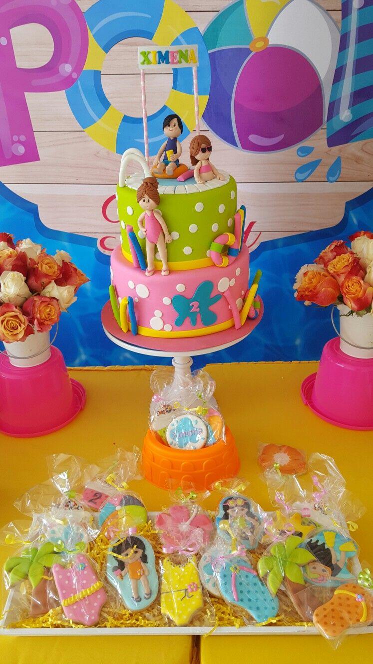 Splash Cake and Summer Cookies