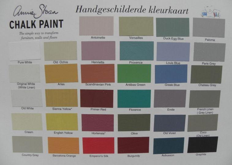 annie sloan chalk paint 100 ml bij de annie sloan