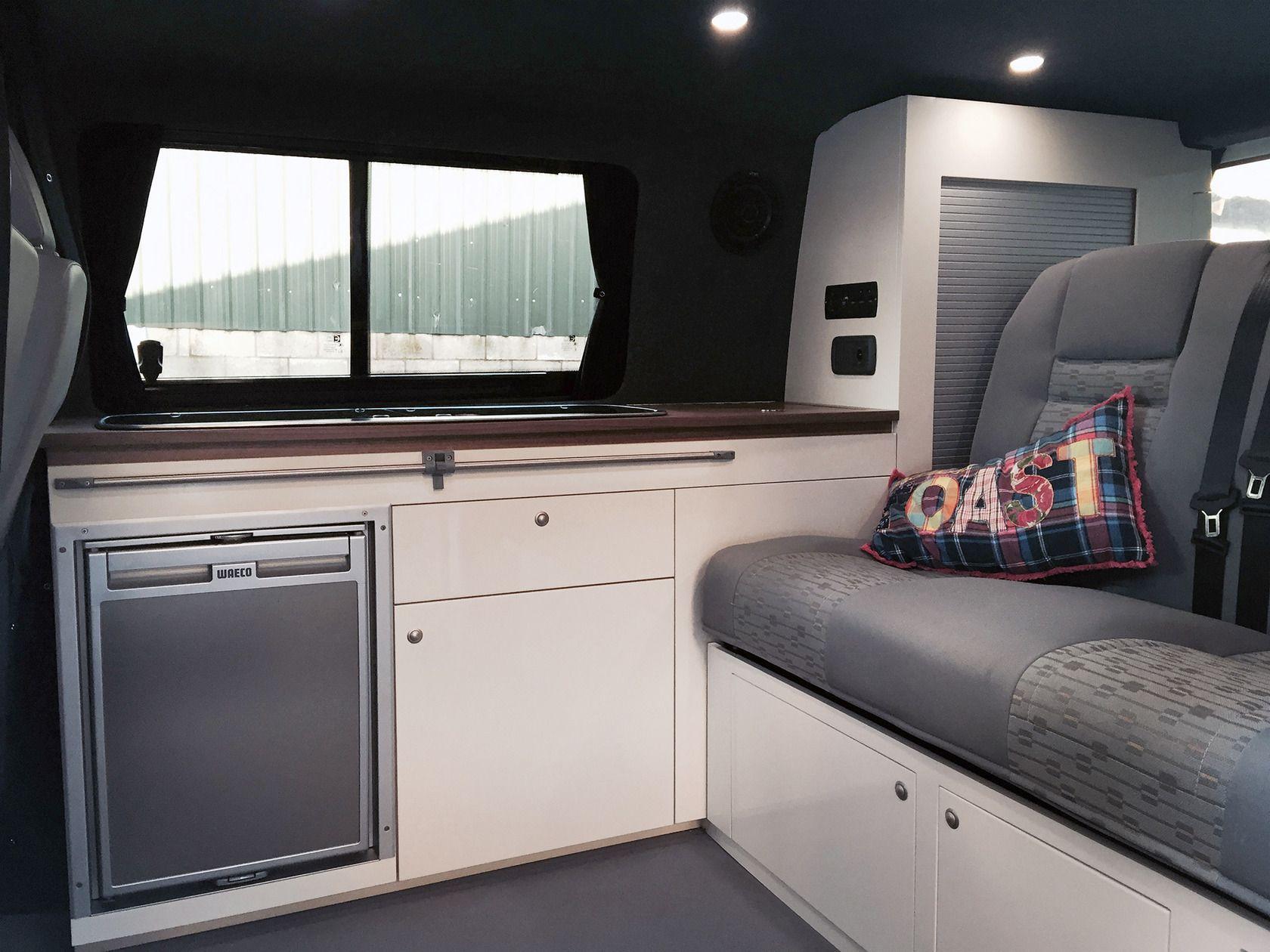 Vw t swb camper van interior interiors pinterest camper