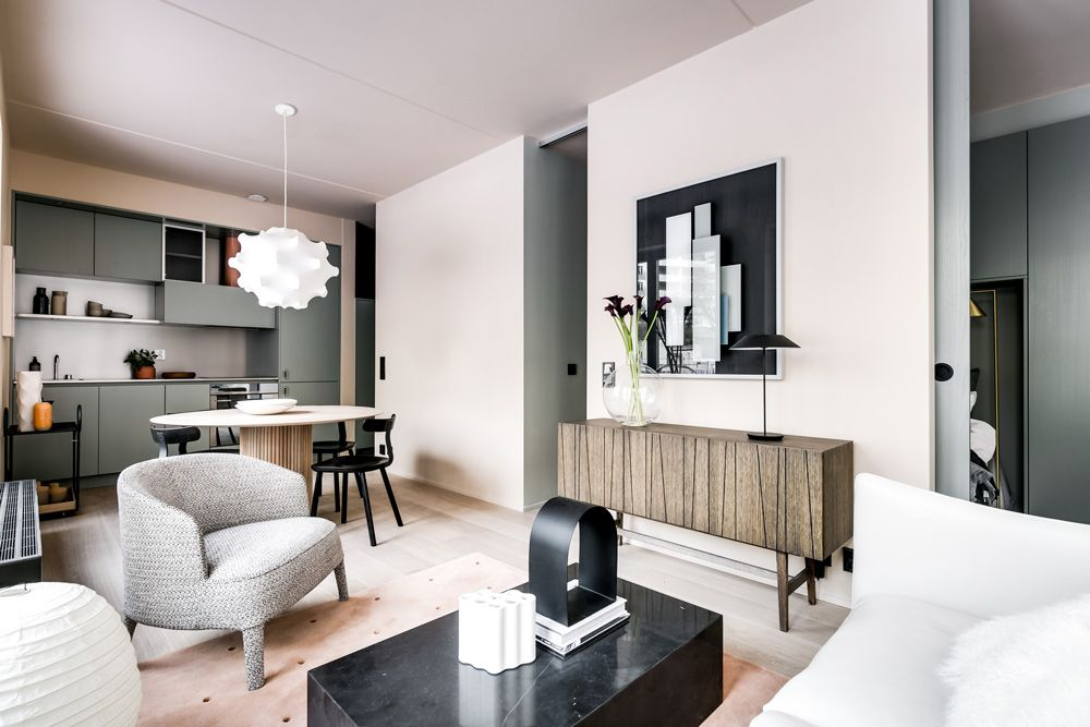 Step inside a stylish urban apartment by note design studio