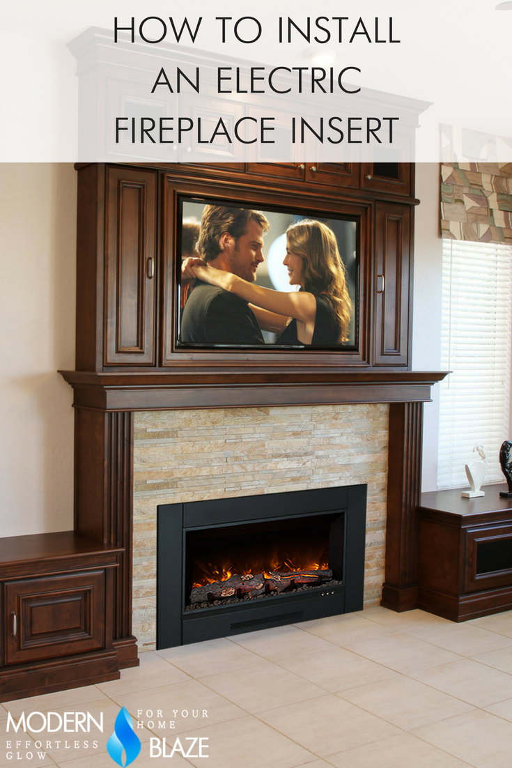 How To Install An Electric Fireplace Insert Build A Fireplace