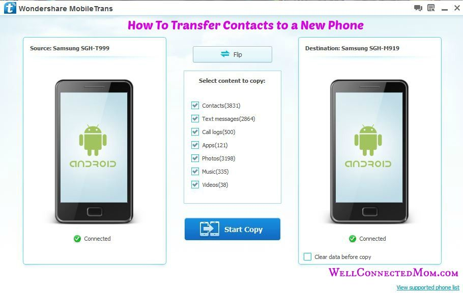 Upgrading to a New Phone? How to Transfer Contacts Tips