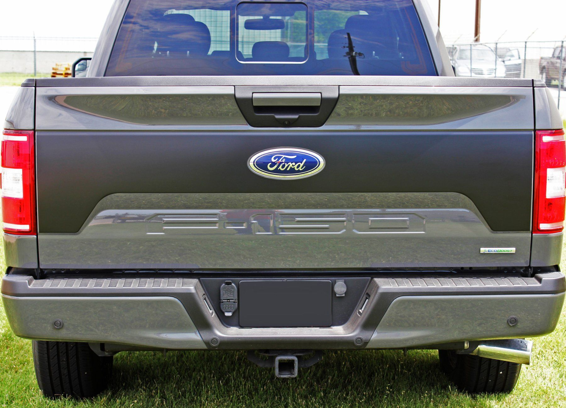 2015 2020 Ford F 150 Route Tailgate Blackout Vinyl Decal 3m