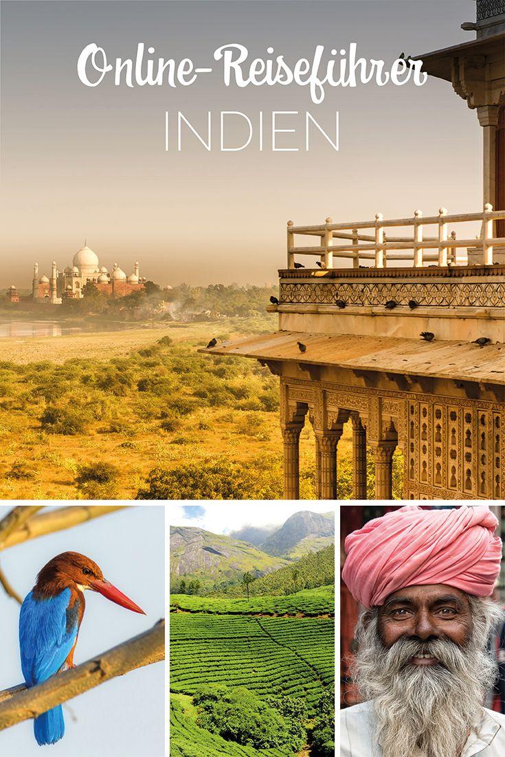 Online Reiseführer INDIEN von LANDMARK