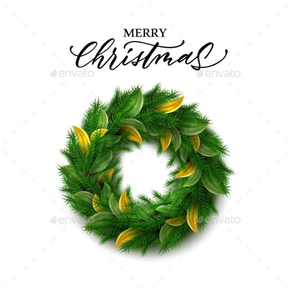 Vector Christmas Wreath Vector Christmas Wreath Martial Art
