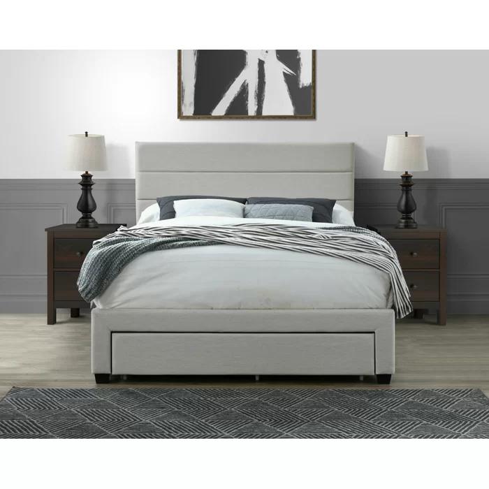 Desoto Upholstered Storage Standard Bed In 2020 Upholstered