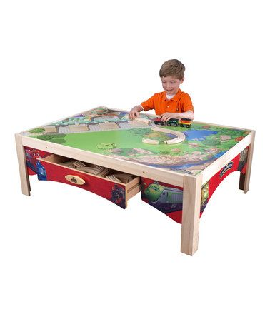 Take a look at this Chuggington Train Table by KidKraft $89.99 on ...