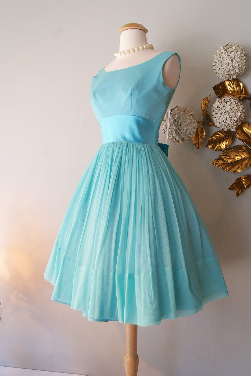 Tiffany blue bridesmaids wedding pinterest tiffany blue tiffany blue bridesmaid dresses for sale xtabay vintage clothing boutique portland oregon recent finds ombrellifo Image collections