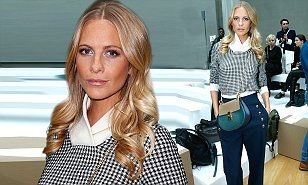 Poppy Delevingne looks picture perfect at Chloe show during PFW #DailyMail