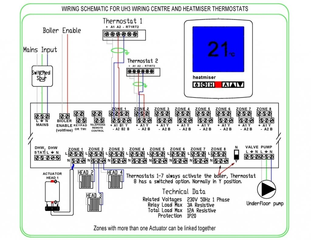Cd3149 Wiring Diagram For Underfloor Heating And Radiators Wiring Resources