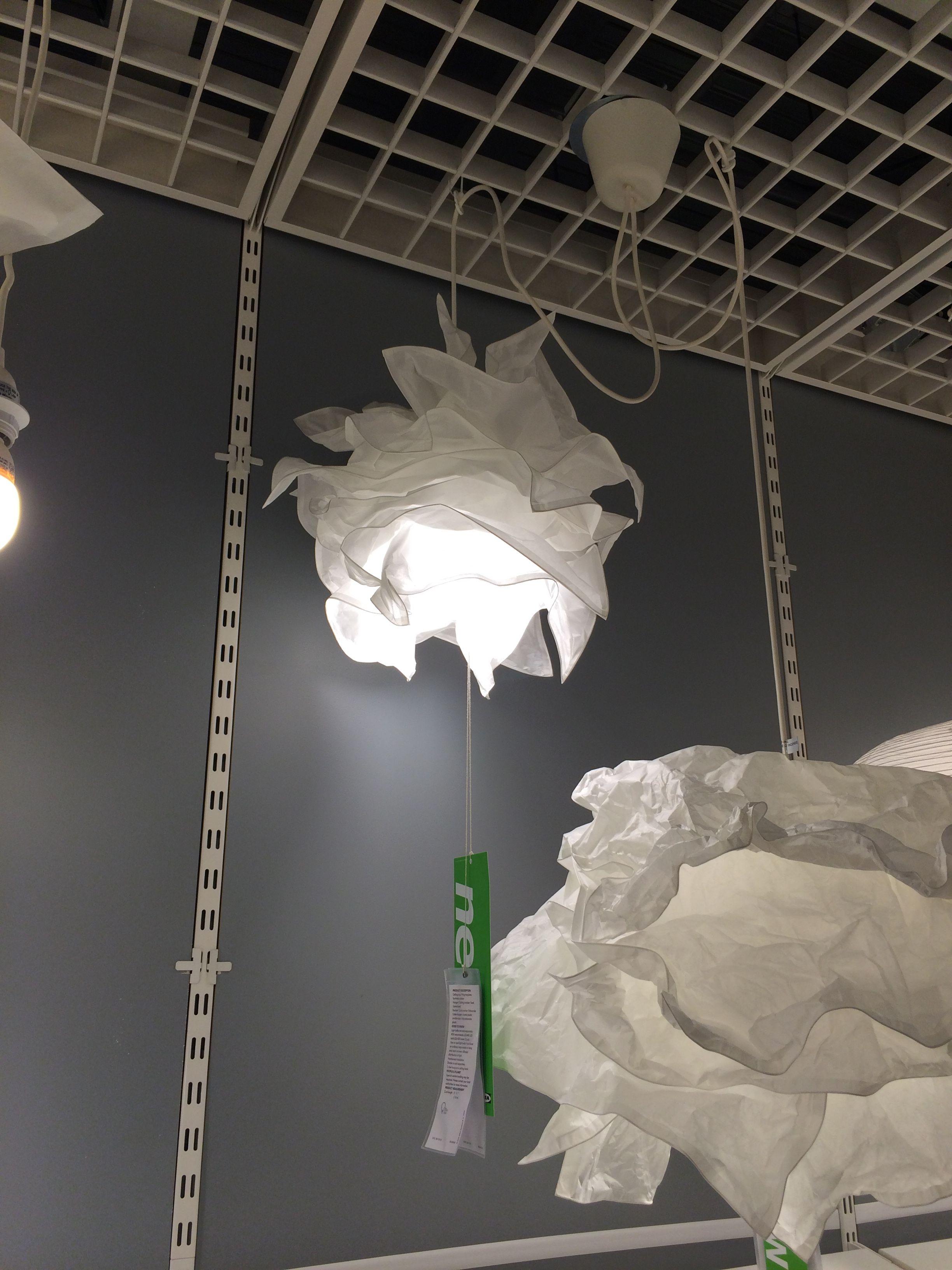 IKEA cloud pendant   Ikea, Clouds, Lighting