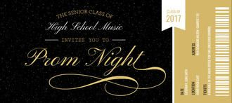 prom ticket stub prom invitation desenhos in 2018 pinterest