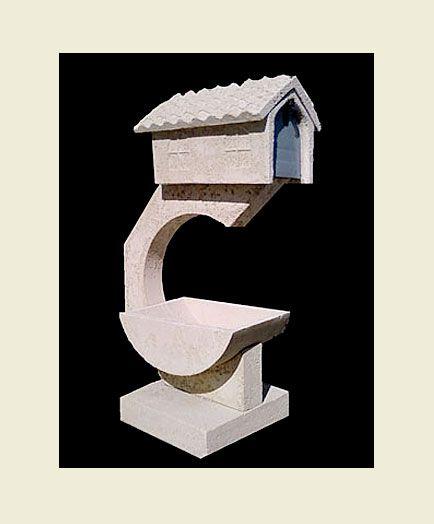 Concrete Mailbox With Planter Concrete Mailbox With Planter