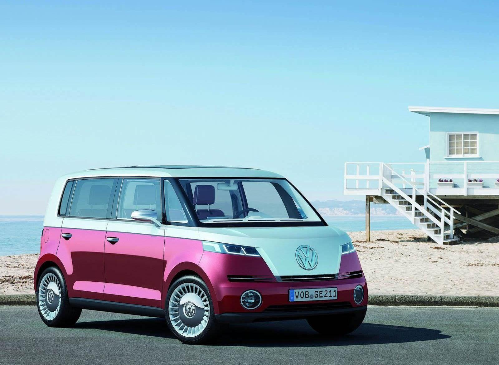 Volkswagen-Bulli-Microvan Concept