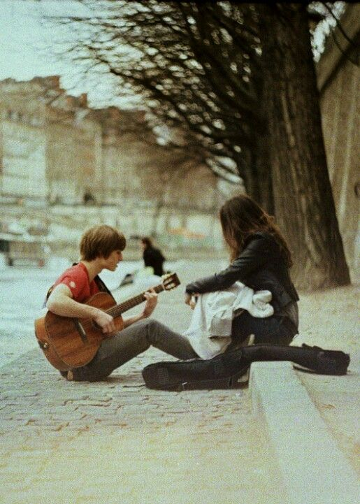 Hed Seen Her Everyday The Blind Girl Sitting On Edge Of Street And Today Hey Mind If I Sit Have A Song To Play For You