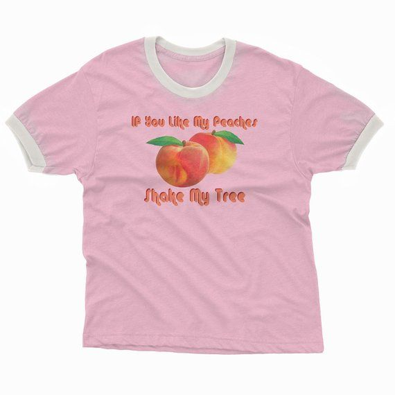 c61f2bb7 Retro Peach Disco Graphic Tee   Vintage Inspired 70s Shirts   If You Like  My Peaches Tees   Womens R