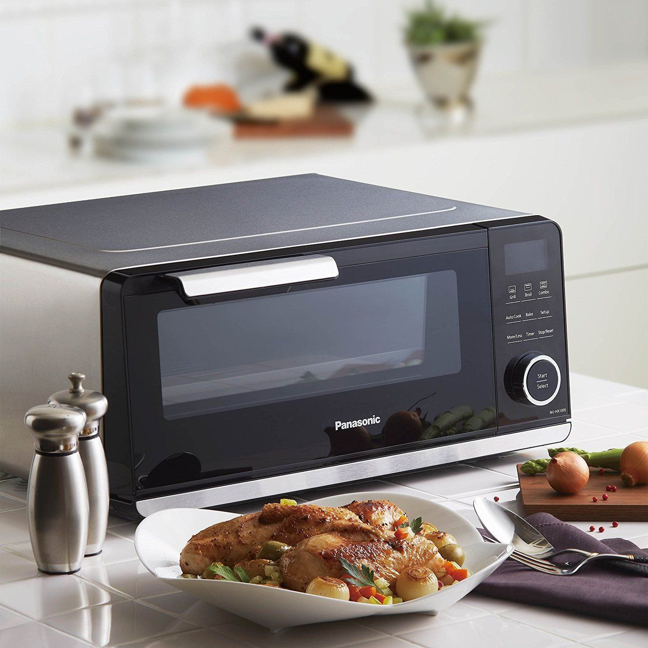 Panasonic Countertop Induction Oven With Images Countertop