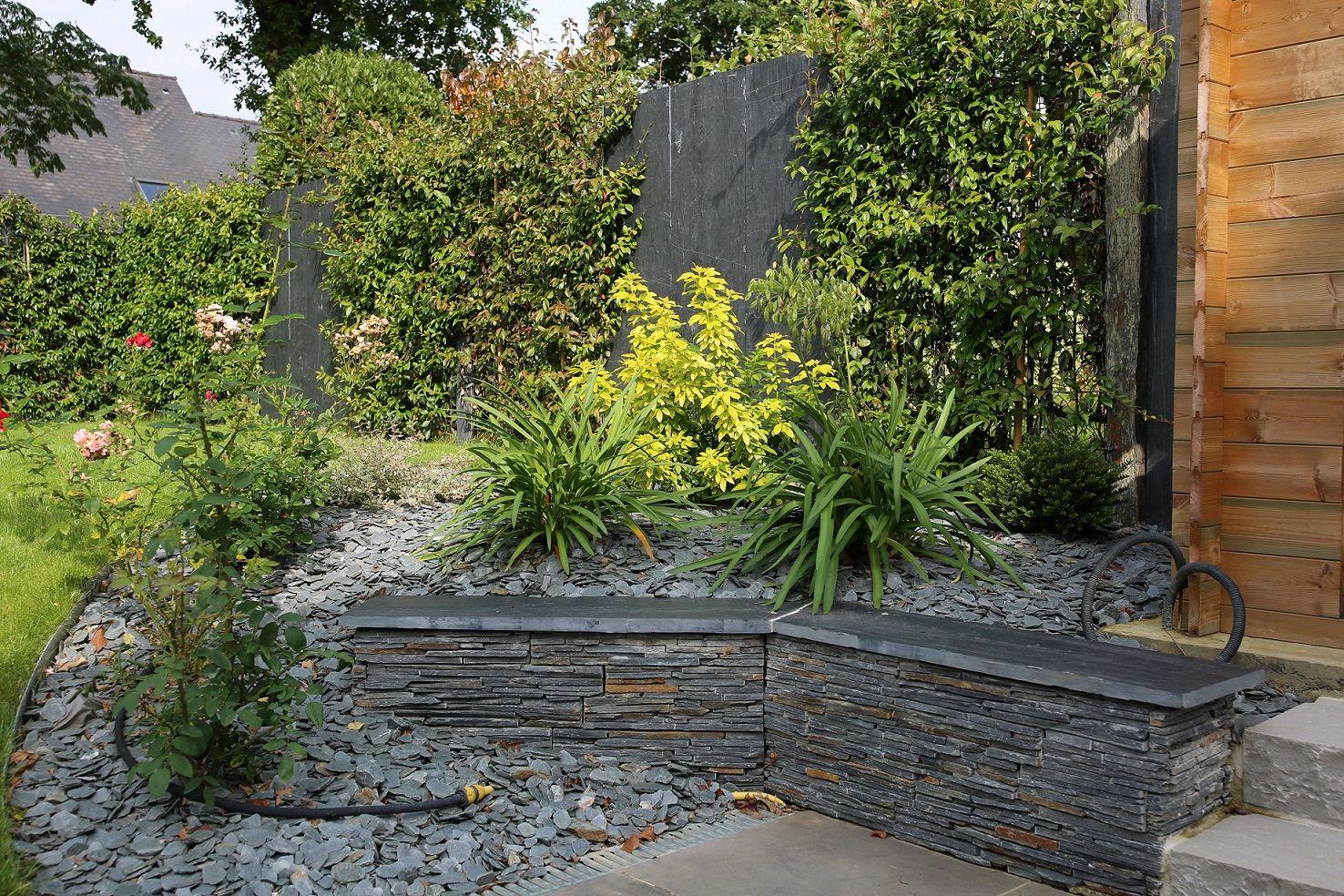 Massif En Pente Bordure Paysage Jardins Amenagement Jardin