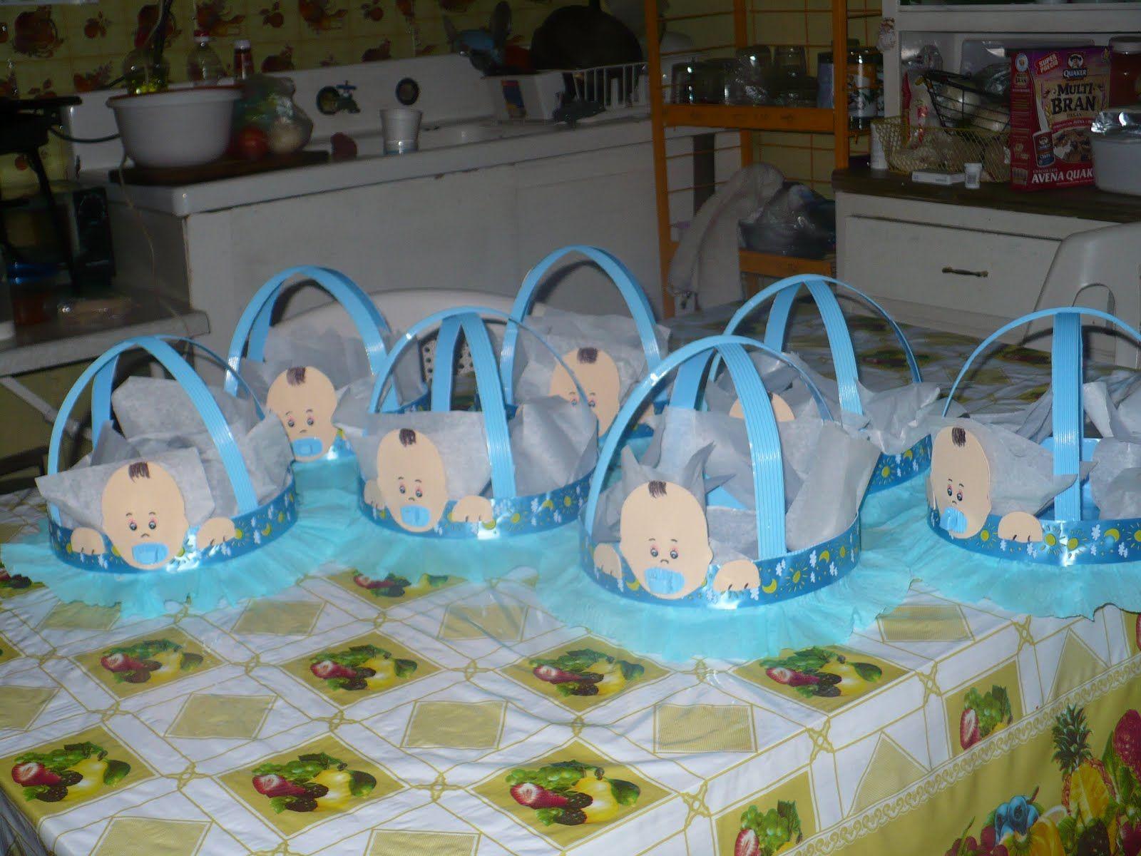 Centros De Mesa Para Baby Shower   Baby Shower Pensamientos