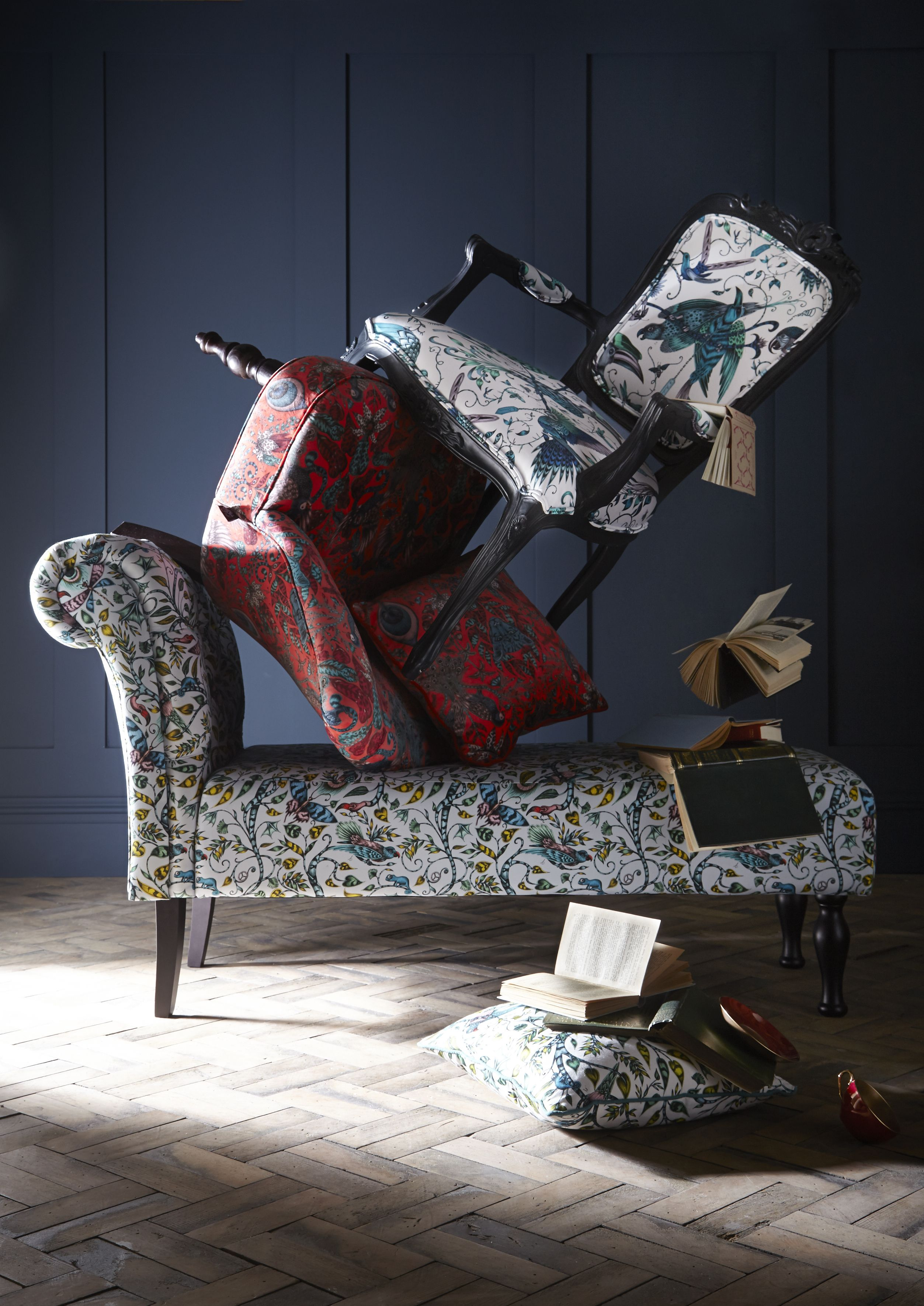 Emma J Shipley X Clarke U0026 Clarke Furniture Following On From The Success Of  Emma J Shipleyu0027s U0027Animaliau0027 Collection Of Furnishing Fabrics And  Wallpapers,we ...
