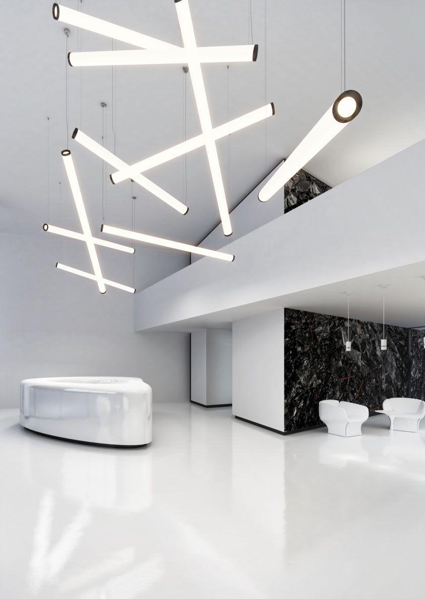Prolicht Ceiling Light Design Linear Lighting Lighting Concepts