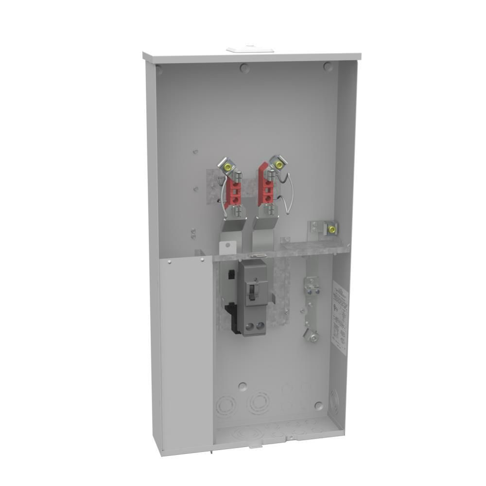 Milbank 200 Amp 4 Terminal Ringless Overhead Underground Meter Socket Products Locker Storage Electrical Inspector Electrical Supplies