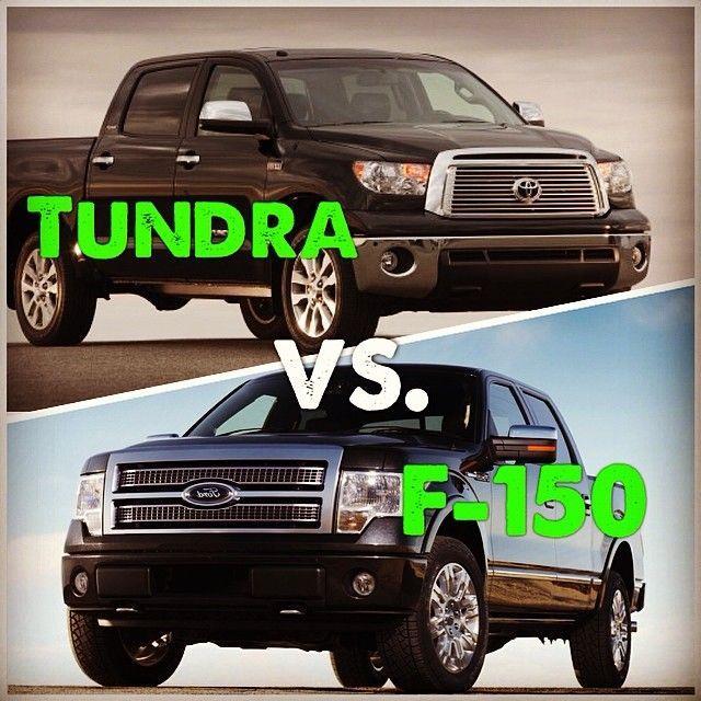 Who Wins In Tundra Vs. F-150? Tundra Won The Vote Over