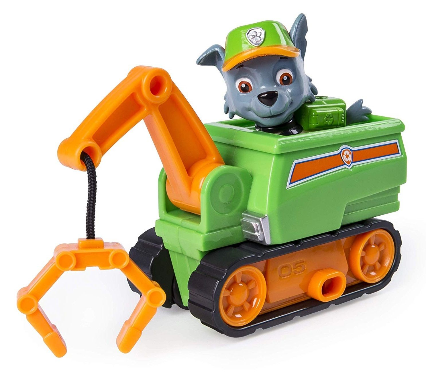 Paw Patrol Rubble/'s Steam Roller Construction Vehicle with Rubble Figure n//a