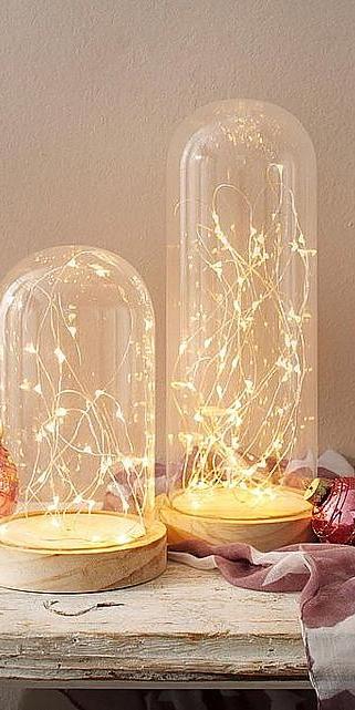 Beleuchtete Christbaumkugeln.Beleuchtete Cloche 2 Tlg Online Kaufen Weihnachten Baur