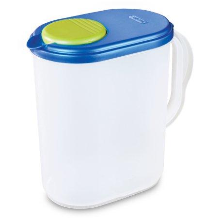Sterilite 1 Gal Pitcher Blue Sky Walmart Com Sterilite Dishwasher Safe Pitcher
