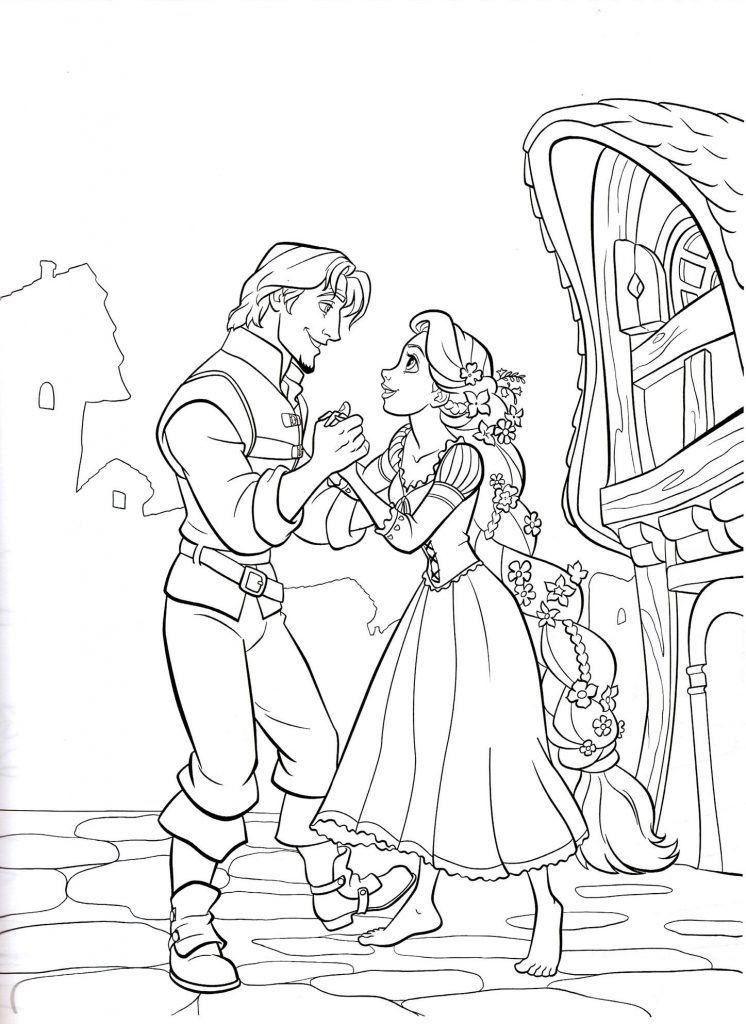 Rapunzel Coloring Pages Disney Princess Coloring Pages
