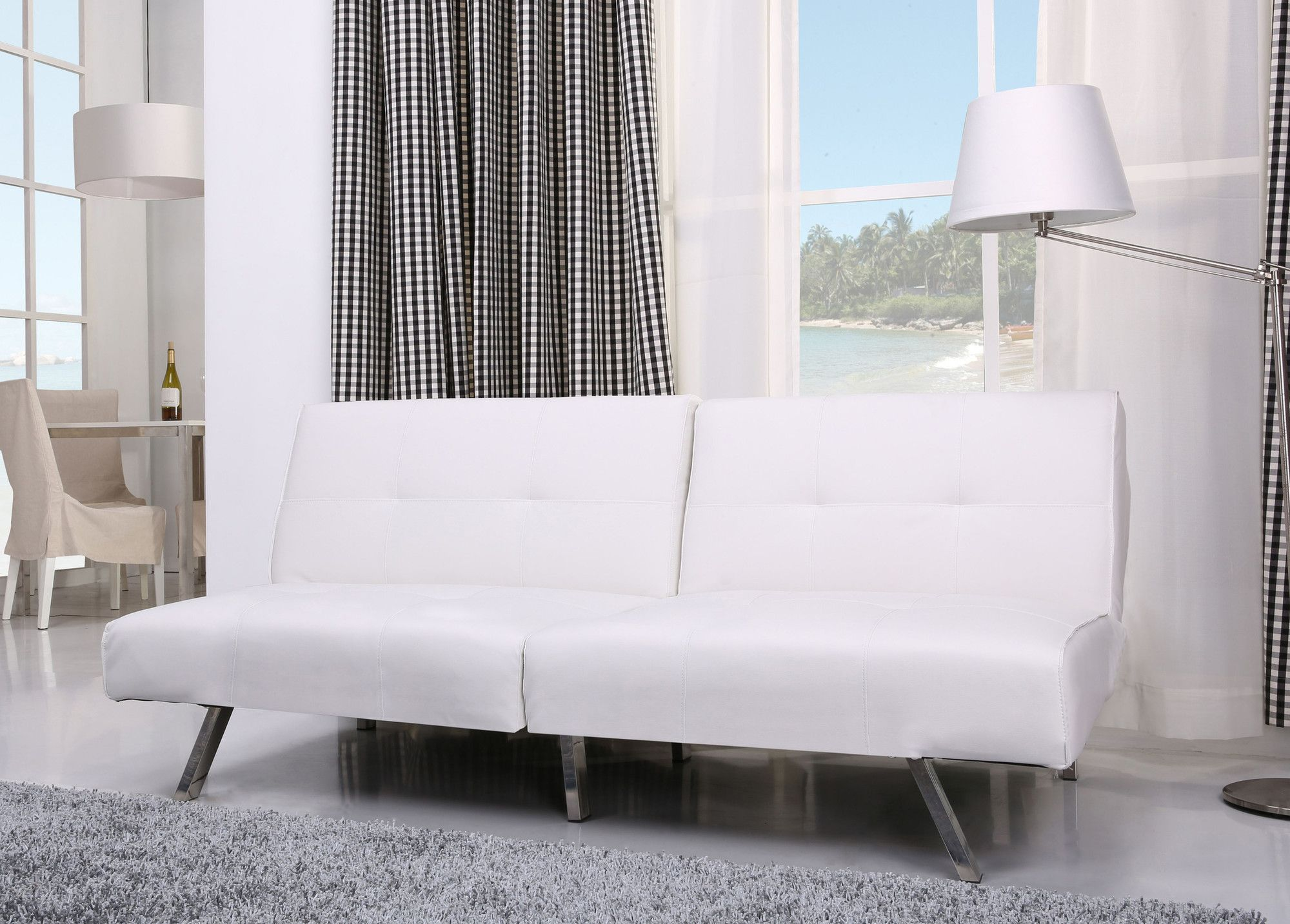 Victorville Foldable Futon Sofa Bed Products Pinterest