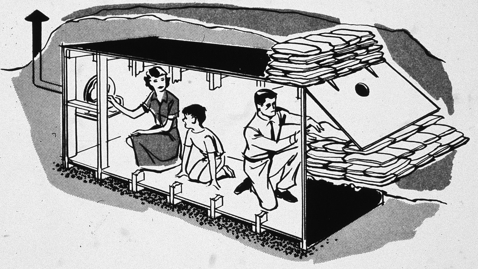 simple diy fallout shelter fallout shelters literature